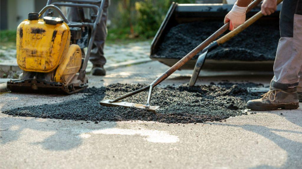 asphalt paving project Kent